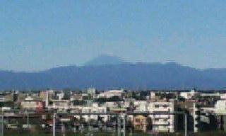 富士山見えたよ\(^o^)<br />  /