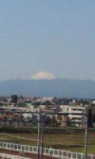 あーやっぱり富士山!