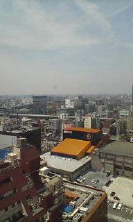 名古屋のホテルからの景色