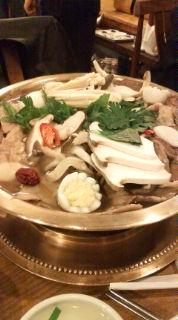 肉野菜鍋〜
