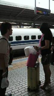 名古屋駅では…