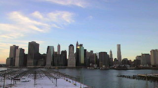 ブルックリンからマンハッタンを見る!